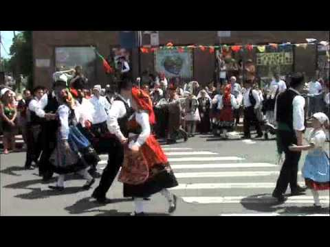 Sons of Portugal Rancho Dancing at Portuguse Square