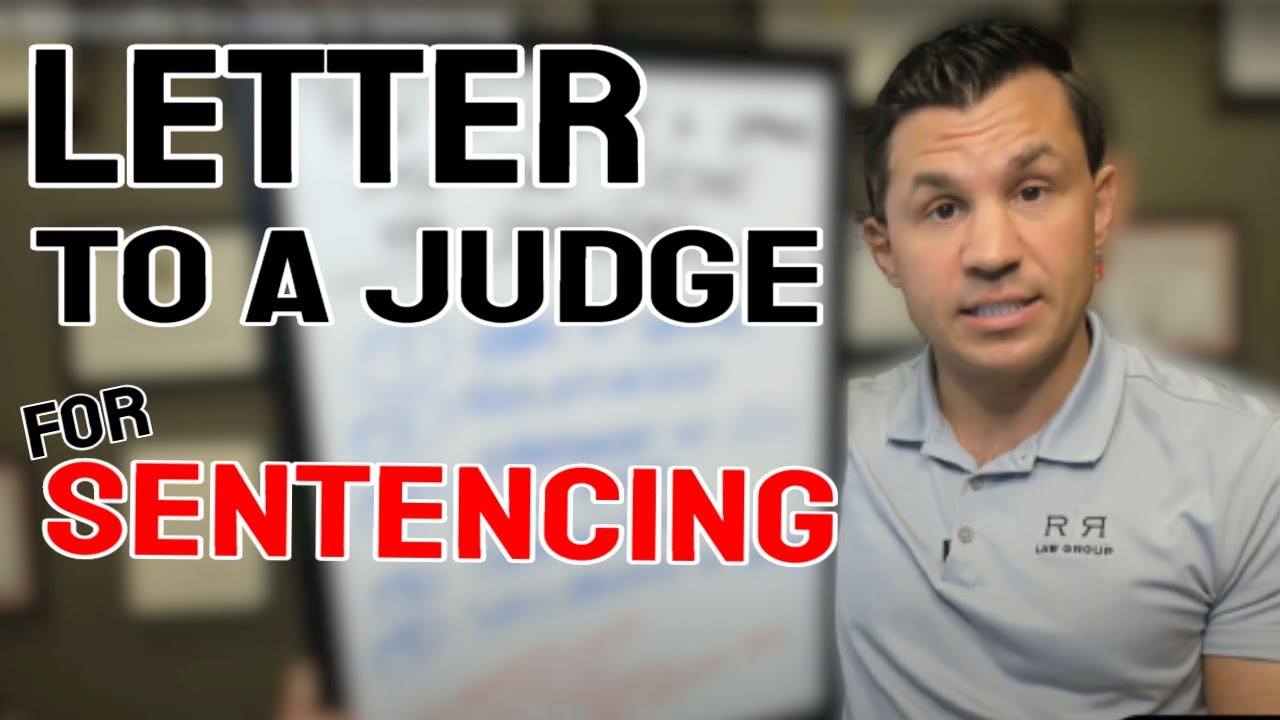 Letter To A Judge Format from i.ytimg.com