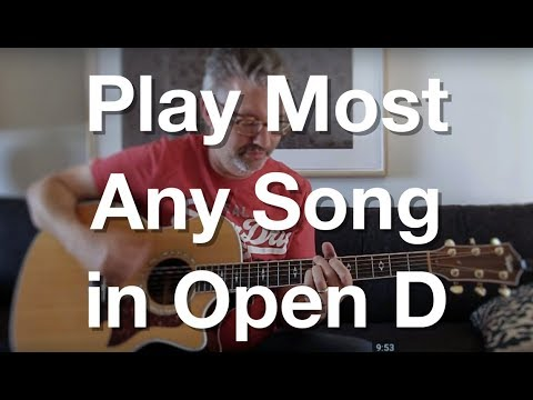 Play Most Any Song in Open D Tuning | Tom Strahle | Pro Guitar Secrets