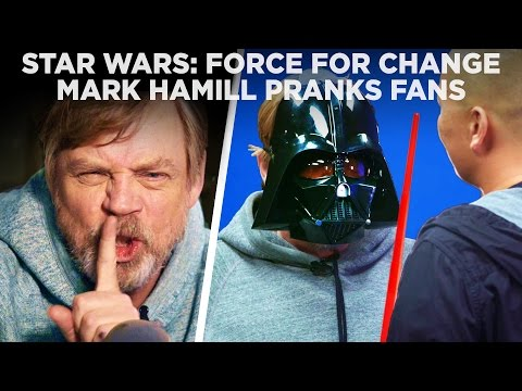 Mark Hamill Pranks Star Wars  with Epic Surprise for Force For Change