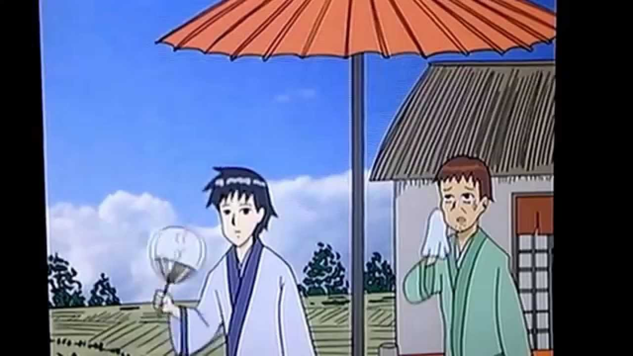 ギャグマンガ日和 松尾芭蕉と曽良君の ショートコントですw - YouTube