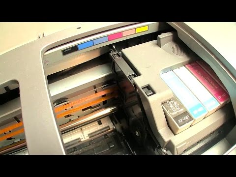 How to Rescue and Revive a clogged neglected printer Part #1
