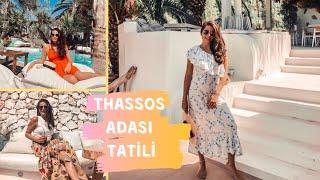 #thassos#thassosadasi THASSOS ADASI ÖNERİLER | BOL YEMELİ BOL KAHKAHALI | NE YENİR NEREYE GİDİLİR
