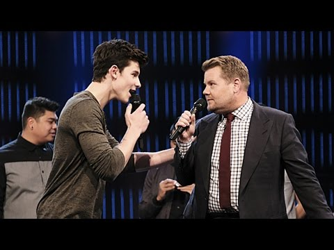 Shawn Mendes Sings Rihanna & Sia in James Corden...