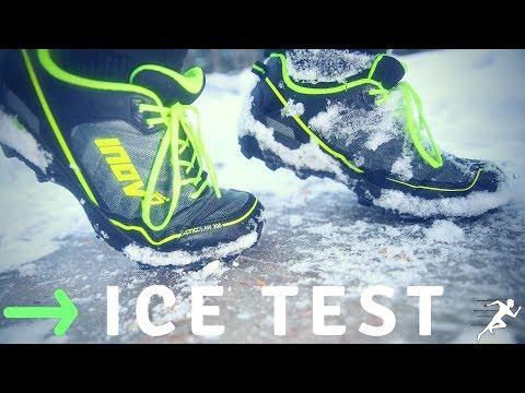 Inov-8 ArcticClaw 300 Running ICE Test | Did I fall?