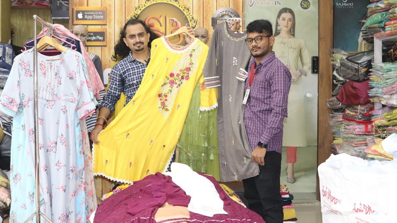 कुर्ती चा बिझनेस करुन कमवा महिना लाखों रुपये ! kurti market in surat   Clothing Business Maharashtra