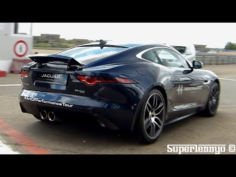jaguar f type r dynamic coup onboard sounds fly by 39 s. Black Bedroom Furniture Sets. Home Design Ideas