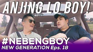 IVAN GUNAWAN NGAMUK GARA-GARA PERTANYAAN BOY! | #NebengBoyNewGeneration Eps. 18