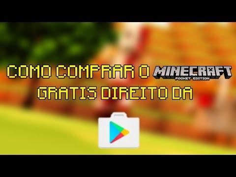 COMO COMPRAR O MINECRAFT PE 0.15.1 GRÁTIS DIRETO DA GOOGLE PLAY!(MÉTODO INFALÍVEL)