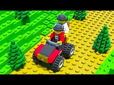 LEGO Police Chase: Money Transfer