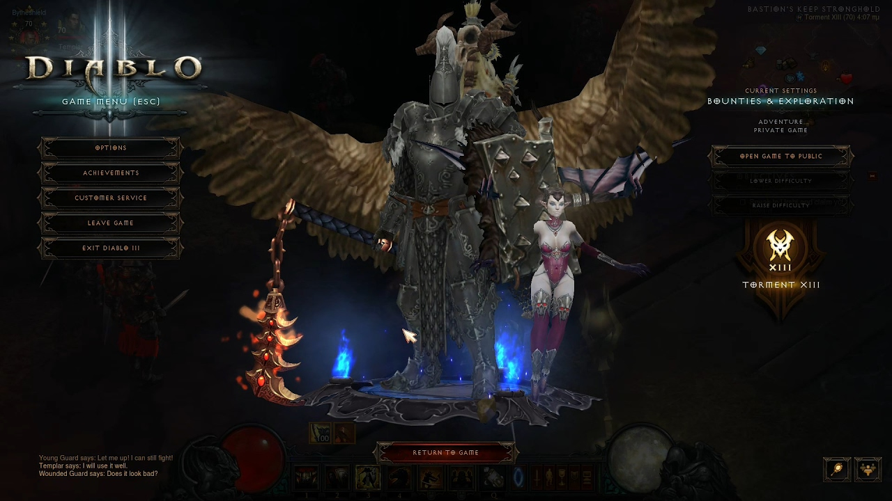 Diablo 3 2 5 0 PTR/season 10/11 NEW Roland Sweep Crusader