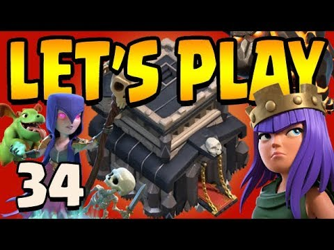 LONG LIVE The KING!  TH9 Let's Play ep34 | Clash of Clans