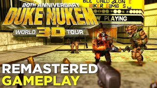 Duke Nukem 3D Remastered GAMEPLAY - 20th Anniversary World Tour Edition