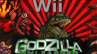 [Wii] All Monster Intros (Godzilla: Unleashed)