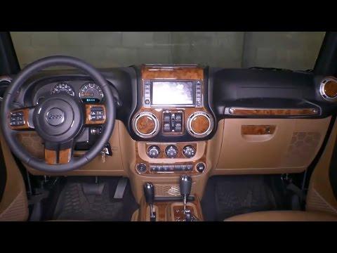 Remin - Burlwood Dash Kit For Jeep JK Wrangler - Installation