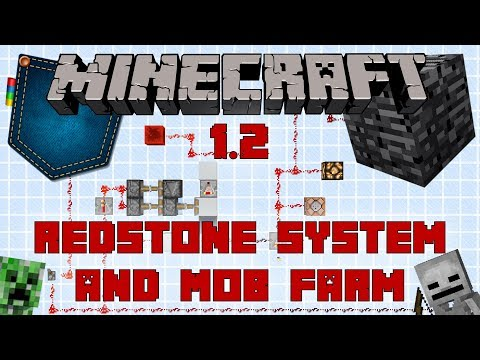 Minecraft 1.2 Better Together: Redstone, Spawning Mechanics and Basic Mob Farm.