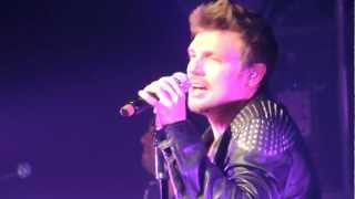 """Backstreet Boys. Foxwoods 12/28/12. """"Inconsolable"""" Mostly Nick Carter."""
