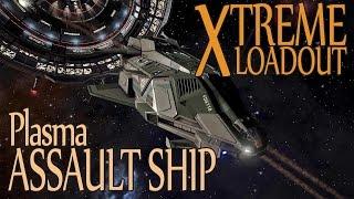 Elite: Dangerous. Extreme Loadout. Federal Assault Ship with Plasma