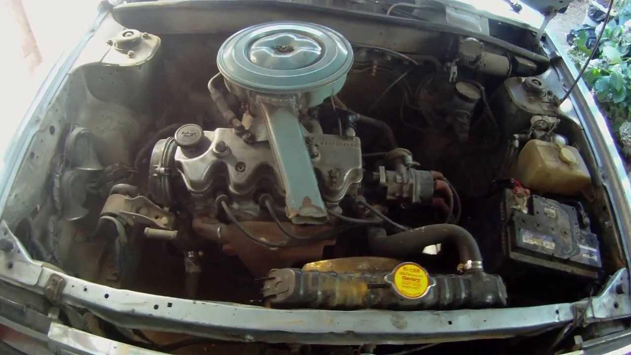 NISSAN SUNNY 89 (engine) (motor) - YouTube