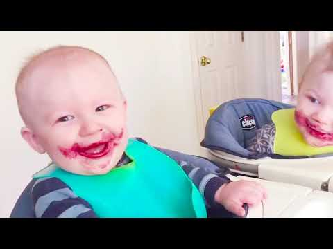 Funny Baby and Siblings Rivalry - Fun and Cute