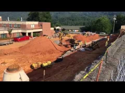 June 13, 2016 Construction is in full swing for Harris Regional Hospital