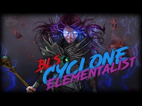 PoE Bestiary 3.2 BLS Elementalist - 126%+ Fire Pen - RIP & Map Gameplay