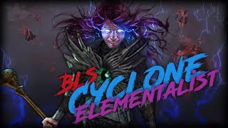 PoE Bestiary 3.2 BLS Elementalist   126 Fire Pen   R P and Map Gameplay