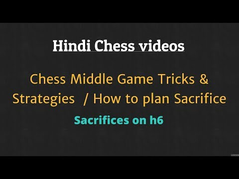 Chess Middle game Chess Tricks & Strategies : Sacrifices on h6