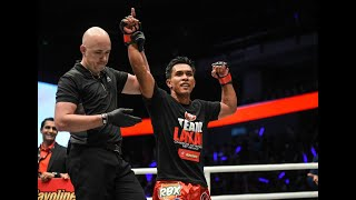 Belingon counts on Filipino support in Singapore for ONE unification bout