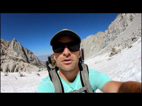 Backpacking Mt. Whitney July 2017