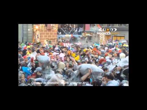 Carnaval de Granville 2015 - Bataille géante de confettis