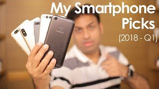 My Best Smartphone Picks Under Rs 15,000 (2018 Edition)