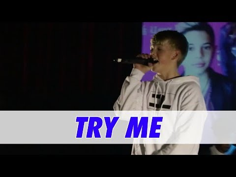 Carson Lueders - Try Me (Live in Atlanta)