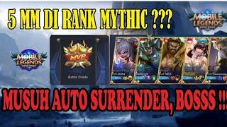 META 5 MM DI RANK MYTHIC, BIKIN AUTO WIN DAN MENGHIBUR !!!