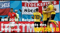 WM 2018 Belgien-England 2:0