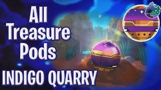 All Treasure Pods in the Indigo Quarry! - Slime Rancher