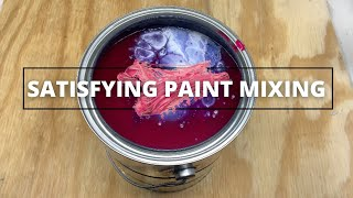 SATISFYING PAINT MIXING | TRY TO GUESS THE COLOR?