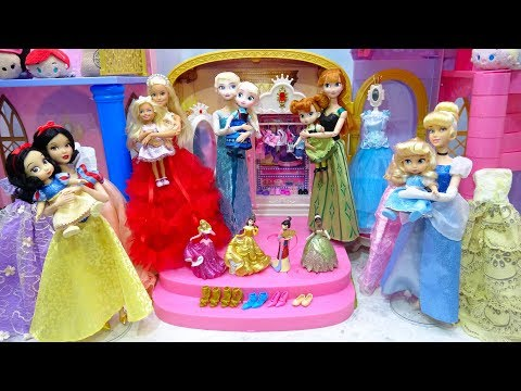 Disney Princess Toddler Makeup Anna Doll Classic Costumes Barbie Cinderella Carriage thumbnail