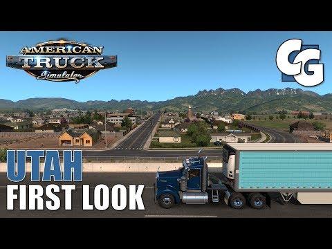 Utah DLC -  First Look - ATS 1.36 Beta (No Mods)