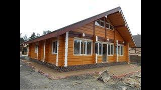 видео Норвежские деревянные дома из лафета