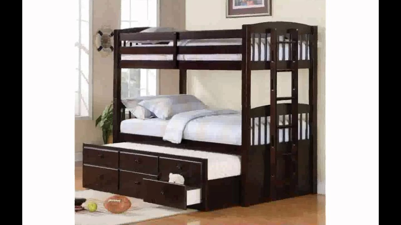 Bunk Bed with Trundle Bed freyalados