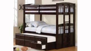 Bunk Bed With Trundle Bed - Freyalados