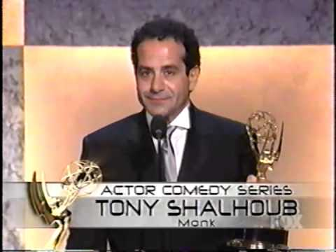 Tony Shalhoub wins 2003 Emmy Award for Lead Actor in a Comedy Series