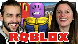 THANOS AND A MC DONALD's. ROBLOX IOS, ANDROID