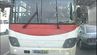 Avtobus surucusunu cezalandiran Ramil Rustamov: baku 08.05.2013