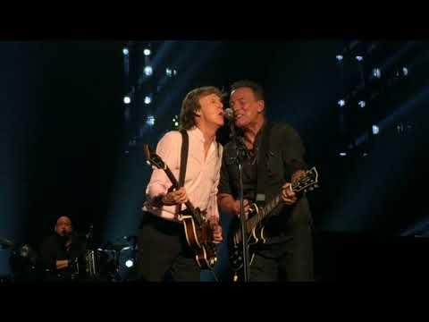 Paul McCartney jams with Bruce Springsteen, Steven Van Zandt- Sept. 15, 2017 MSG