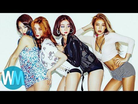 Top 10 Girl Groups in K-Pop