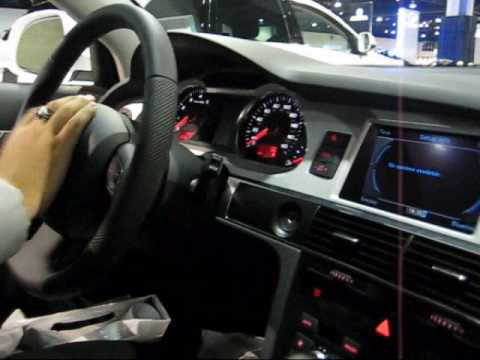 2010 audi a6 exterior interior and sound youtube. Black Bedroom Furniture Sets. Home Design Ideas
