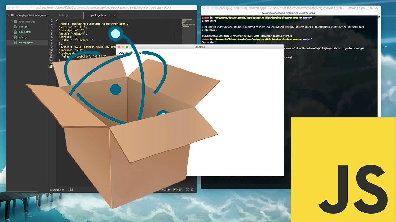 Packaging and Distributing Electron Desktop Apps