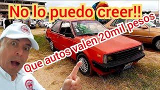 Cuales son los autos mas baratos desde 20mil pesos tianguis de autos en venta nissan ford vw